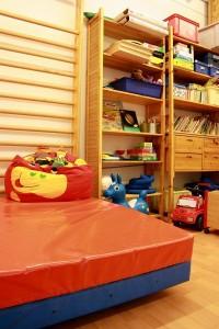 Foto von der Spielecke im SHIA-Kinderzimmer